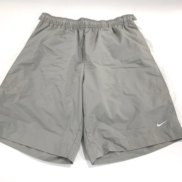 7b619eb9d5 Nike Swim | Gray Stripe Shorts Mens Sx Xl | Poshmark